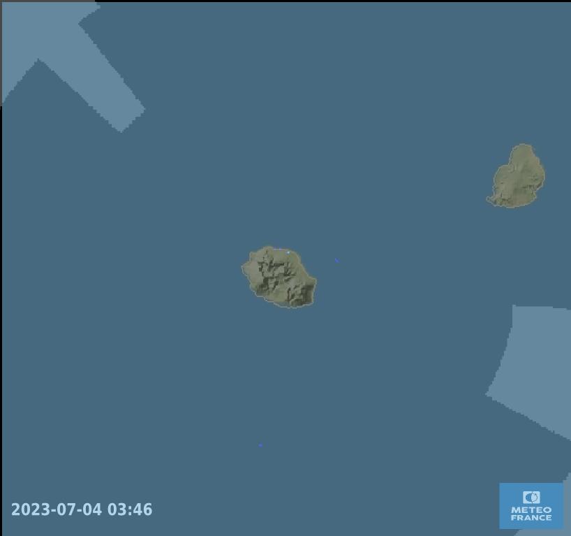 Dernière image radar